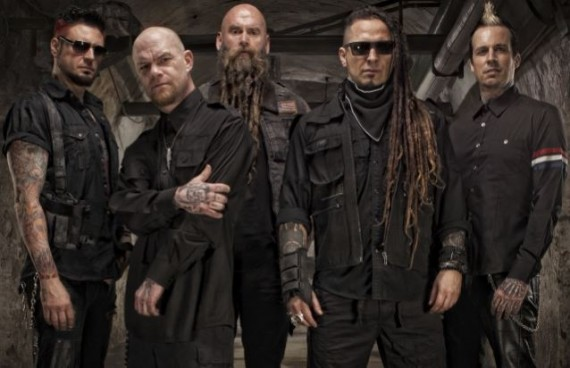 five finger death punch - band promo - 2015