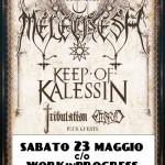 MELECHESH, KEEP OF KALESSIN: sabato 23 maggio a Padova