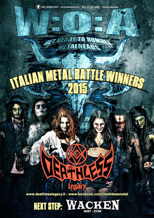 wacken metal battle 2015 - vincitri deathless legacy