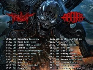 ANNIHILATOR HARLOTT TOUR 2015