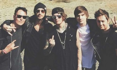 Asking Alexandria - band - 2015
