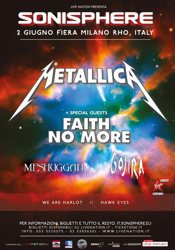 Sonisphere 2015 - poster definitivo - 2015