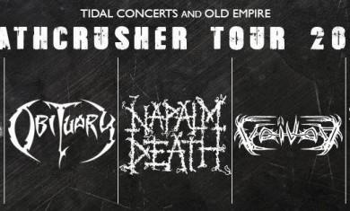 deathcrusher tour londra 2015
