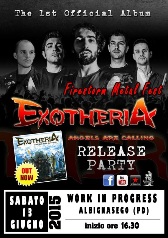 exotheria - release party - 2015