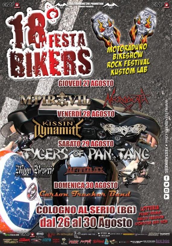 festa bikers locandina 2015