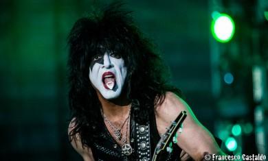 Paul Stanley of Kiss performs live at Arena di Verona