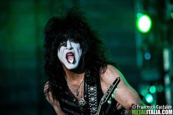 Paul Stanley of Kiss performs live at Arena di Verona