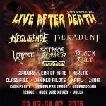 LIVE AFTER DEATH FESTIVAL 2015: i dettagli