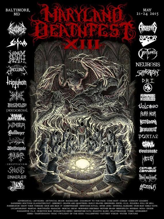 maryland deathfest locandina 2015