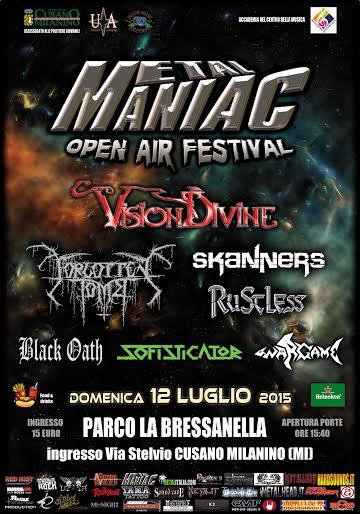 metal maniac festival - locandina - 2015
