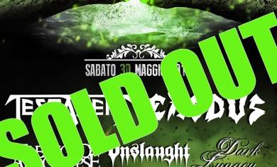 metalitalia festival 2015 - locandina sold out