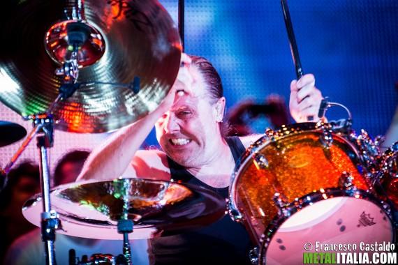 Metallica - Lars Ulrich live @ Sonisphere Italia 2015