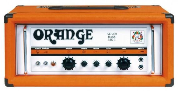 raw power - testata orange