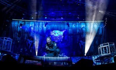 slipknot - live roma prima pagina - 2015