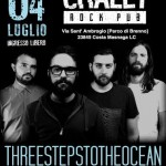 THREE STEPS TO THE OCEAN: live a Lecco nel weekend