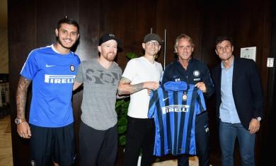 linkin park - Icardi, Mancini e Zanetti - 2015