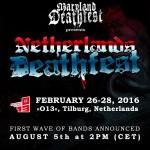 NETHERLAND DEATHFEST 2016: il Maryland sbarca in Europa