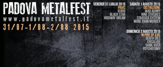 Padova Metal Fest 2015