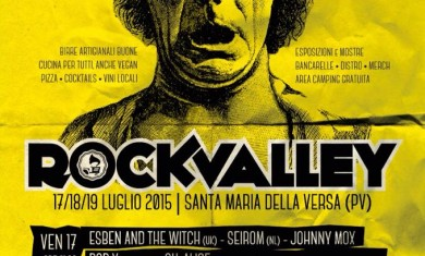 Rock Valley - flyer edizione 2015 - 2015
