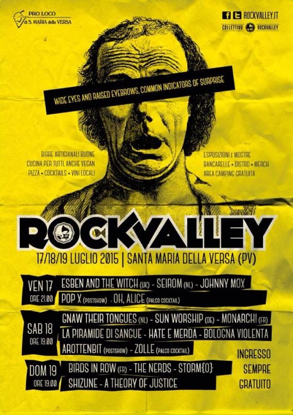 Rock Valley - flyer edizione 2015 - 2015