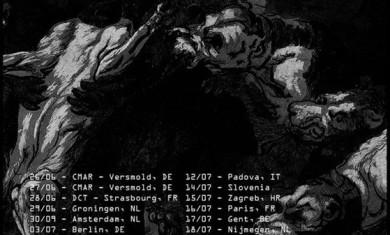 Tempest - flyer tour europeo 2015 - 2015