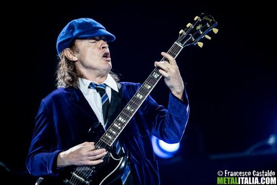 AC/DC - Angus Young - live Imola 2015