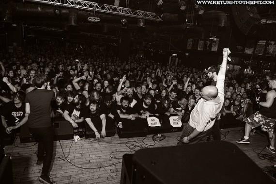 agoraphobic nosebleed - mdf - 2015