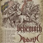 BEHEMOTH, ABBATH, ENTOMBED A.D., INQUISITION: info e biglietti per la data di Trezzo sull'Adda