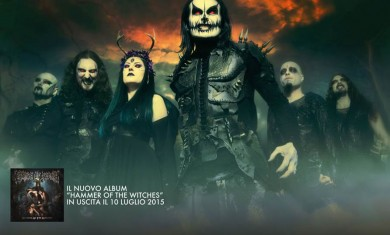 cradle of filth - locandina tour italia - 2015