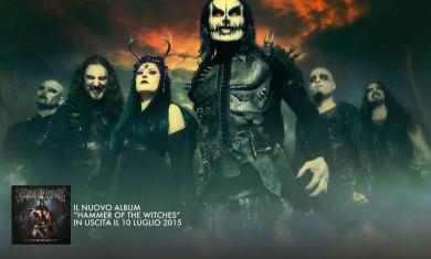 cradle of filth - locandina tour italia - 2015