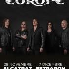 EUROPE: biglietti omaggio per le date di Milano e Bologna