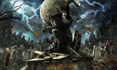 grave digger - Exhumation - The Early Years - 2015