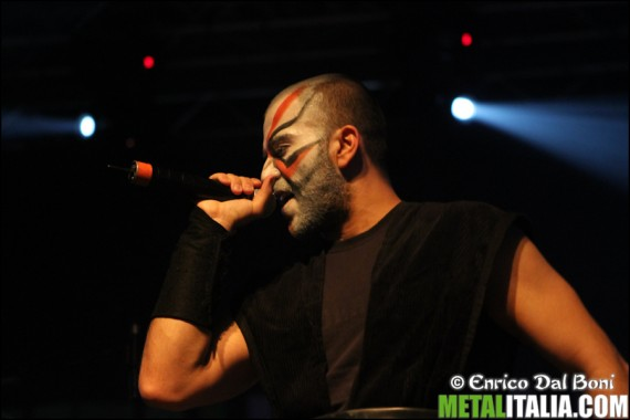 Holy Martyr - live @ Metalitalia.com Festival 2012