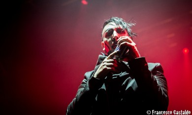 Marilyn Manson performs live at Alcatraz