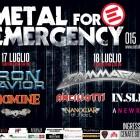 METAL FOR EMERGENCY 2015