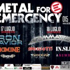 METAL FOR EMERGENCY 2015