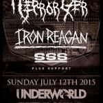 terrorizer la - iron reagan - london 2015
