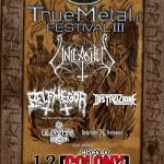 truemetal festival 2015 - seconda locandina
