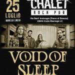 VOID OF SLEEP: i dettagli del concerto di sabato a Lecco