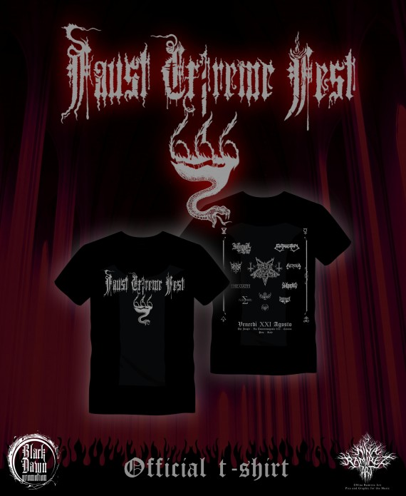 Faust Extreme Fest VI - Official Tshirt - 2015