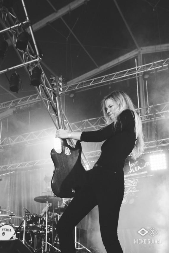 Grave Pleasures - foto Hellfest 1 - 2015