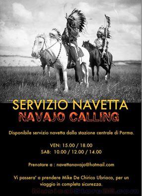 Navajo Calling - servizio navetta - 2015