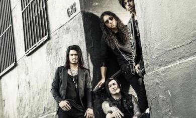 escape the fate - band - 2015