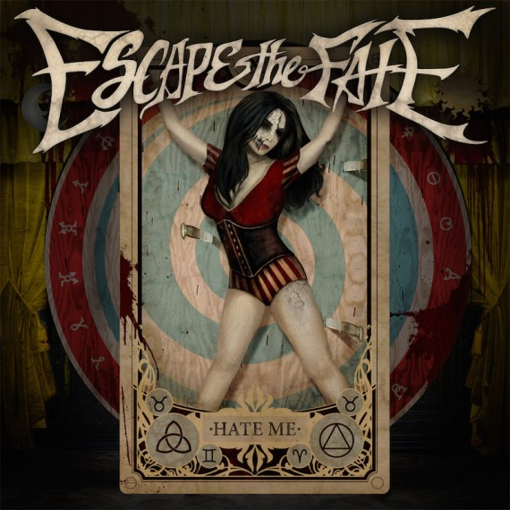 escape the fate - hate me - 2015