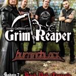 GRIM REAPER: una data al Centrale Rock Pub di Erba