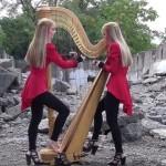 """METALLICA: """"One"""" suonata dalle HARP TWINS (Video)"""