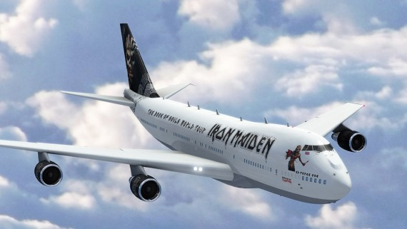 iron maiden - ed force one - 2015