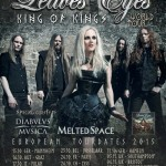 LEAVES' EYES: il nuovo tour, due date in Italia