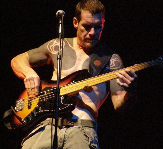 RAGE AGAINST THE MACHINE - Tim Commerford