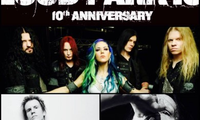 arch enemy con liiva e christopher amott - 2015